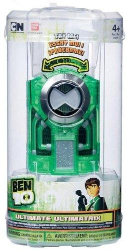 Ben 10 Toy - Ultimate Ultimatrix - Light and Sound Effects - Roleplay - Cartoon Network