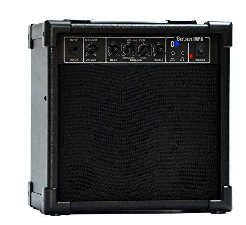 Benson 20 watt Bluetooth multi functional practice amp (bass guitar/Electric Drum kit/Electric Guitar/Electro Acoustic)