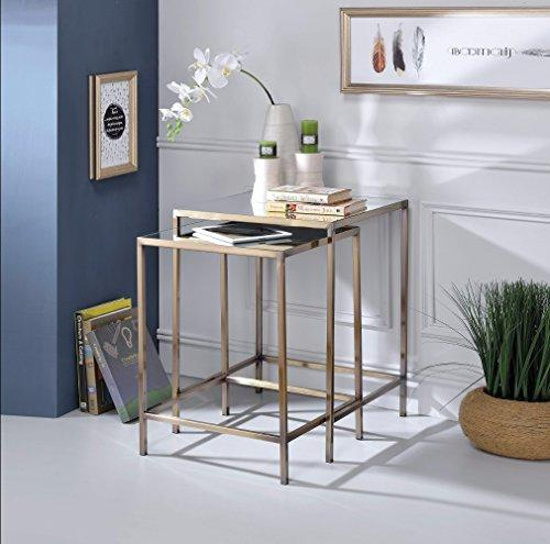 Benzara BM157312 Nesting Table