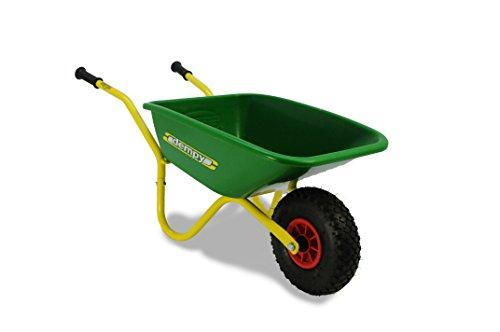 BERG Dempy Yellow/Green Wheelbarrow