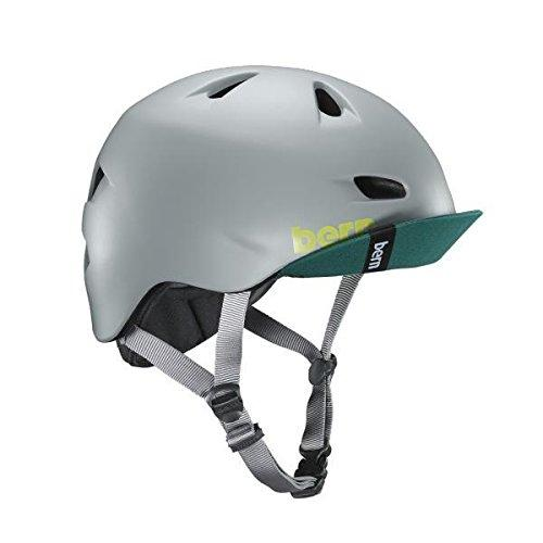 Bern Men's Brentwood with Flip Visor Cycling Helmet, Matte Pavement, Large
