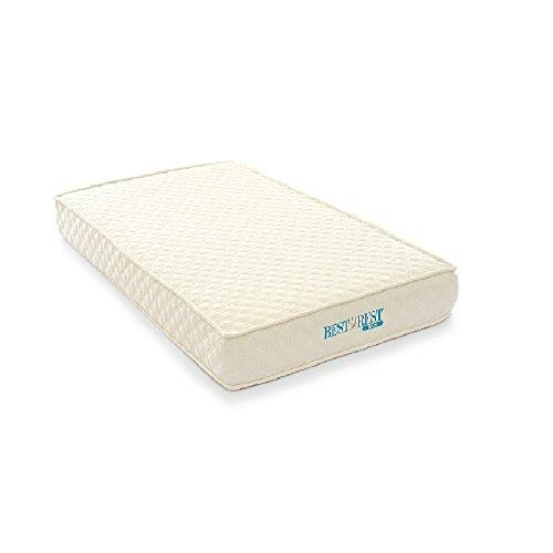 BestRest Mattress, Foam, White, Full