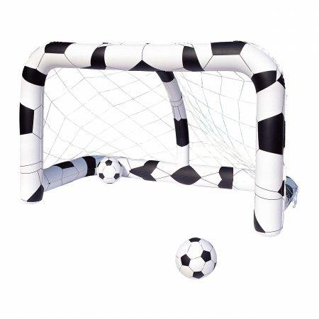 BESTWAY INFLATABLE OUTDOOR FOOTBALL SOCCER NET WITH BALLS