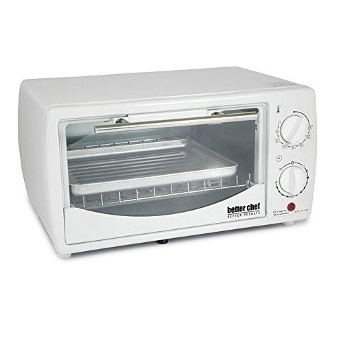 Better Chef 9 Liter Toaster Oven Broiler-White by Better Chef