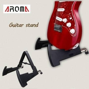Bheema Aroma AGS-02 Guitar Stand Folding Plastic Rack for Guitar Bass Ukulele