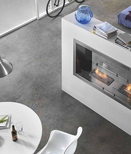Bio-Ethanol fireplace Horus B-SIDE HORIZONTAL 90