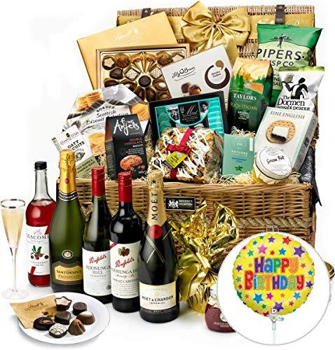 Birthday Gatcombe Hamper With Moët Champagne