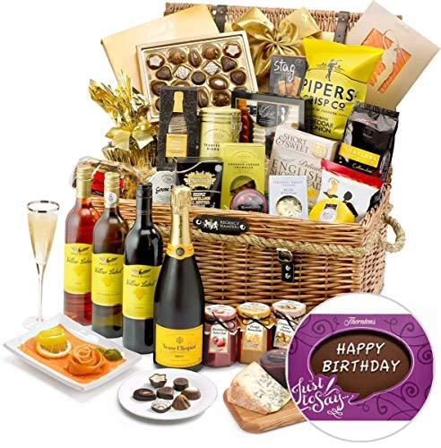 Birthday Kingham Hamper With Veuve Clicquot Champagne