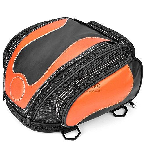 BJ Global High Quality Motorcycle Saddle Bag Oil Tank Tail Helmet Saddle Bags Tool Travel Luggage Racing Travel Bag