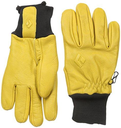 Black Diamond Dirt Bag Climbing Gloves, Natural, Small