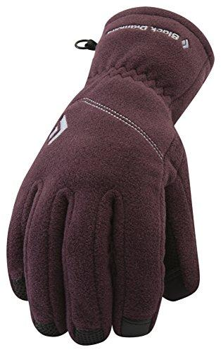 Black Diamond Women's Wind Weight Glove Liners, Wine, Small