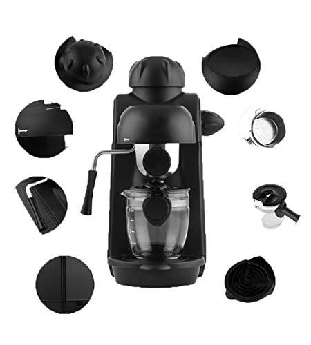 Black Super-Automatic Espresso Coffee Machine Combination Single Steam Foaming Portable Coffee Machine
