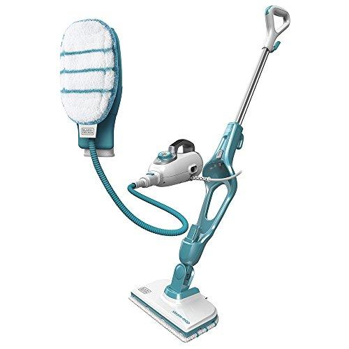 BLACK+DECKER FSMH1351SM-GB 9-in-1 Steam Mop with SteaMitt, 1300 W