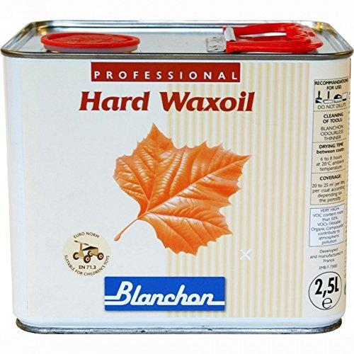 Blanchon Hard Wax Oil Clear Satin Natural 2.5Ltr