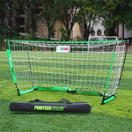 BLNET MINI Football Goal Net Detachable Simple For children and teenagers 5-People 150CM,green