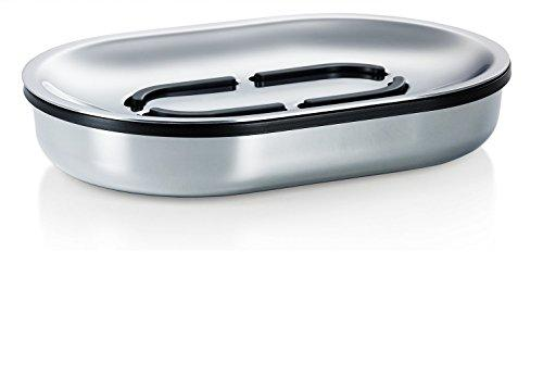 Blomus AREO Polished Soap Dish, Stainless_Steel Silver
