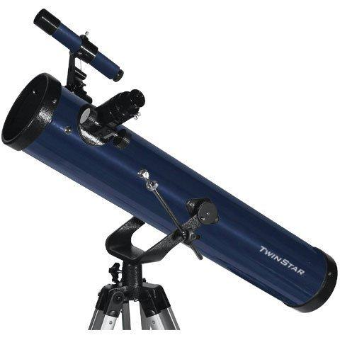 "Blue TwinStar FirstStar 3"" Reflector Telescope"
