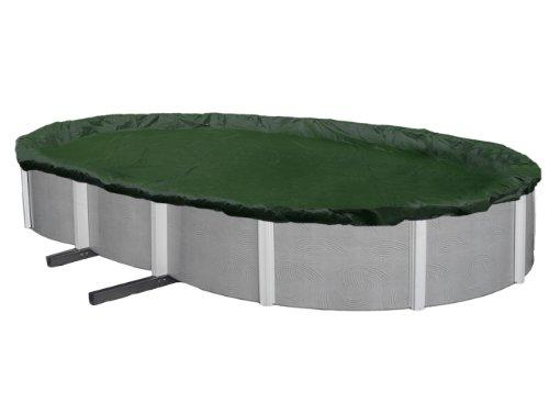 Blue Wave Silver 12-Year 12-ft x 20-ft Oval Above Ground Pool Winter Cover