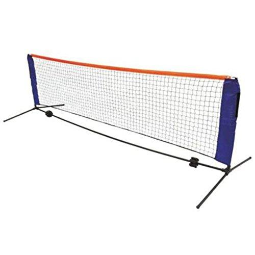 Bluelover Sport Outdoor Tennis Net Portable Post Frame Kit Badminton Volleyball Training Net 6M W/Bag