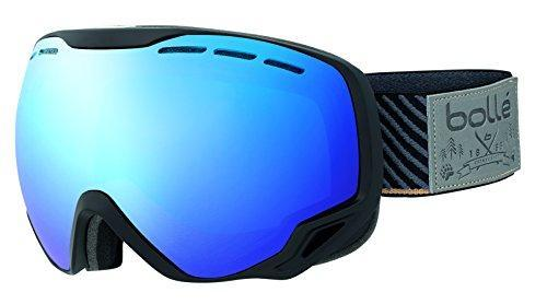Bollé Sun Protection Emperor Men's Outdoor Skiing Goggle available in Black Stripes - Medium/Large