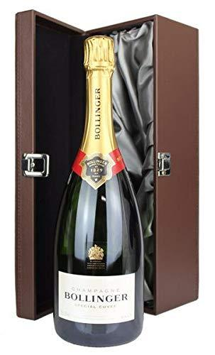 Bollinger NV Champagne in leather effect Gift Box