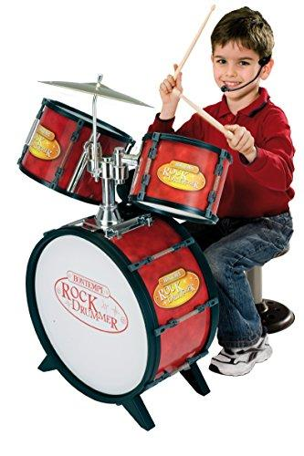 Bontempi 52 6800 Drum Set with Electronic Tutor (4-Piece)
