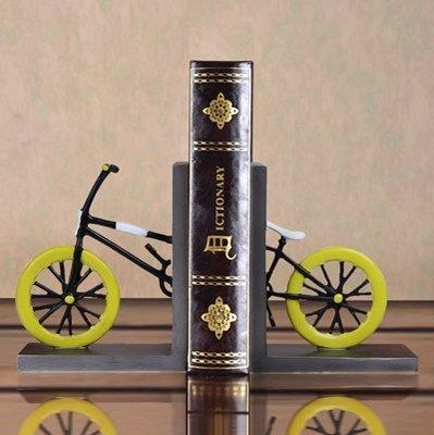 Bookends antique cool decorative modern book end racks Miniature Motorcycle Bookshelf