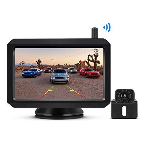 "BOSCAM K7 Digital Wireless Reversing Camera Kit, 5"" TFT-LCD Monitor With Stable Clear Image, Night Vision Rear View Camera, For Hatchback, SUV, Lorry, Van, MPV, Cargo Van"