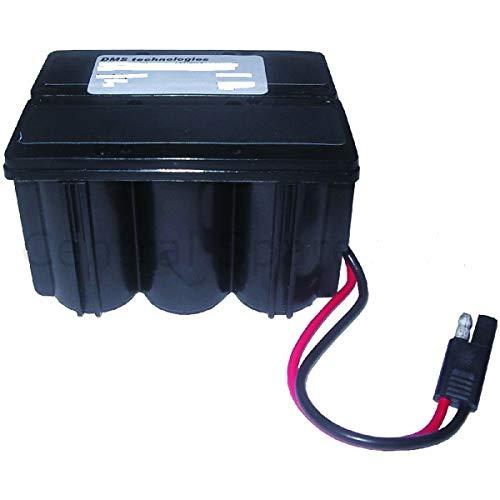 Bosch ATCO Starter Battery (12V, 2.5Ah, 6-Cell) (VERSION To Fit: ATCO Balmoral, ATCO Admiral, ATCO Viscount & ATCO Royale Lawnmowers) c/w STANLEY KeyTape (image shown) + Cadbury Chocolate Bar