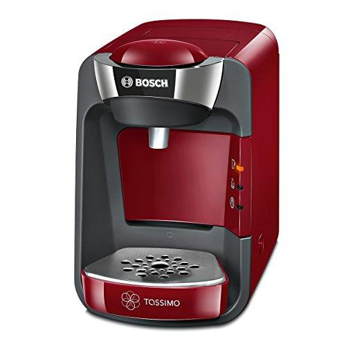 Bosch TAS3203 coffee maker - coffee makers (freestanding, Semi-auto, Pod coffee machine, Coffee capsule, Caffe crema, Caffe latte, Cappuccino, Chocolate milk, Espresso, Latte macchiato, Tea, Red)
