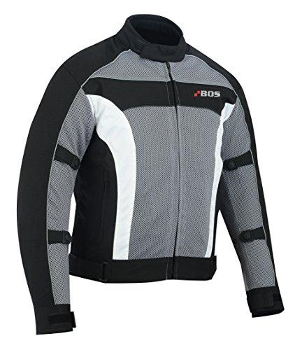Bosmoto motorcycle summer jacket men with protectors, airmesh motorcycle jacket