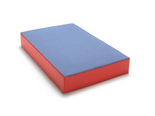 Bouncy mattress in great colours for kids, 107 cm x 70 cm x 17 cm