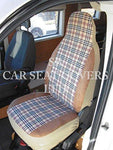 Boxer Motorhome, 2005, seatcovers - Blueberry MH-024