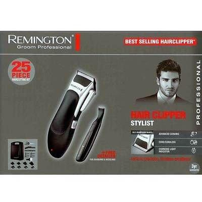 BRAND NEW REMINGTON HAIR & BEARD CLIPPER TRIMMER CORDLESS RECHARGEABLE CUTTING KIT MENS