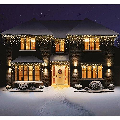 Bravich indoor outdoor 960 warm white led snowing icicle lights bravich indoor outdoor 960 warm white led snowing icicle lights aloadofball Image collections
