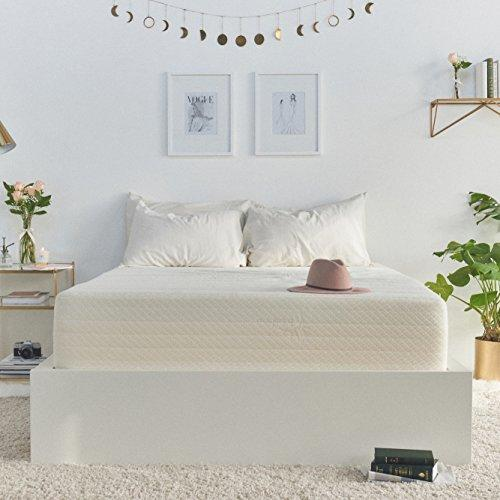 Brentwood Home Cypress Mattress, Bamboo Derived Rayon Cover, Gel Memory Foam, Made in USA, 9-Inch, Full