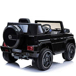 Bseion Kids Ride On Car of Electric Remote Control Vehicle With 6V Motor R/C (Remote Control) B/0 (Battery Operate) Mode MP3 and Light Four Wheel Drive Leather Seats (Color : Black)