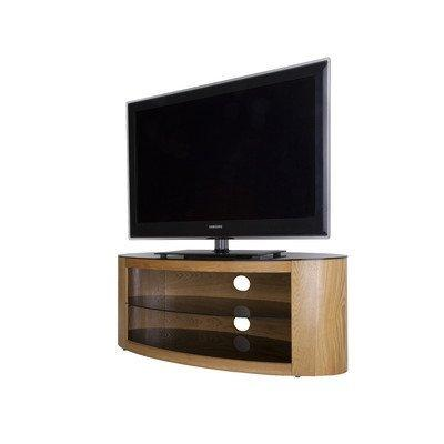 "Buckingham TV Stand Oak Veneer Wooden TV Table 40 42 46 47 50 52 55"" FS1100BUCO"