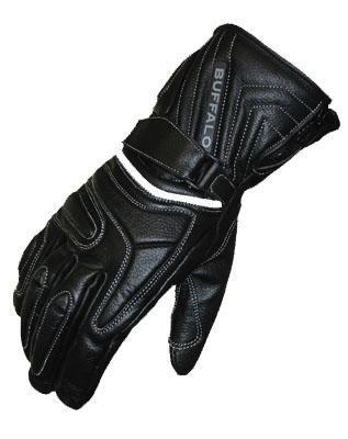 Buffalo Arctic Leather Winter Waterproof Motorcycle Gloves XLarge