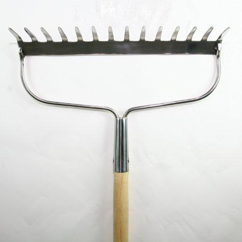 Burgon and Ball Garden Bow Rake (Endorsed by the Royal Horticultural Society)