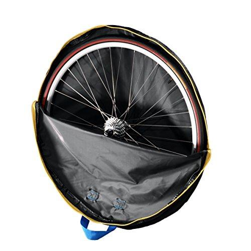 B&W International B&W 28in Bike Wheel Guard Light Padding Bag Bicycle Wheel Cover