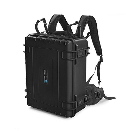 B&W outdoor cases backpack system (BPS) for outdoor case type 5000, 5500,  6000 - The Original