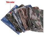 Camo Tarp,Camouflage Tarpaulin,Ideal for Car Pool Machine Cover,Canopy, Wind Protector, Privacy Wall, Picnic Mat,Boat Cover, Fishing,Caravans,Multi-Size Options,Woodland Color ( Size : 6*10m )