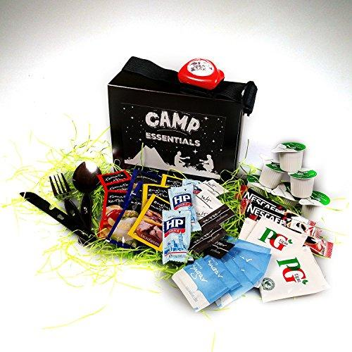 Camp Essentials - Includes Cutlery & Head Torch! - By Moreton Gifts