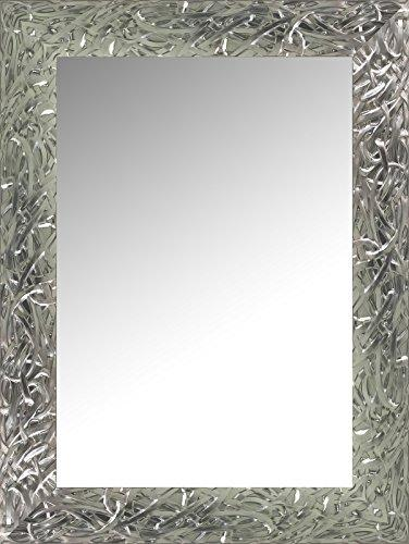 Canvases Levante da2418 – 12 Wall Mirror for Dressing Room, Headboard or Sideboard, 168 x 68 cm, Silver