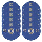 Capital Sports Performan Urethane Plates Weight Plates 5 Pair 20 kg Blue