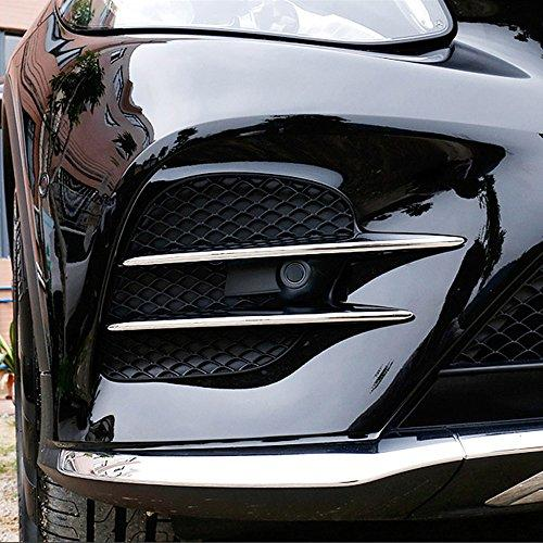 Car Accessores ABS Chrome Air intake grille Strips Trim GLC-Class X253 4Pcs