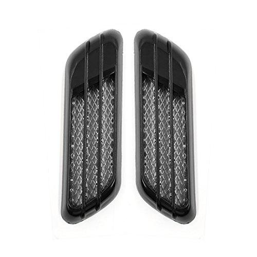 Car Air Flow Vent Hood Cover Fender Body Decoration Stickers 2pcs