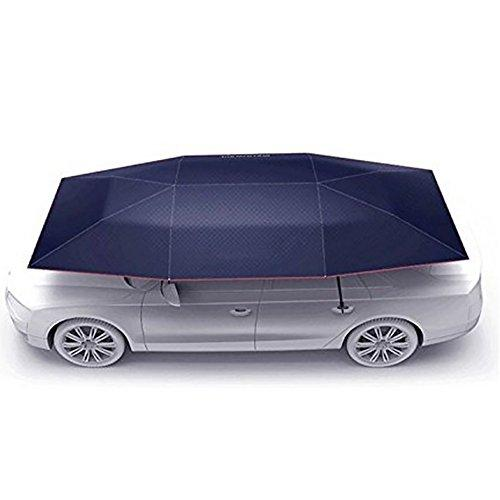 Car Tent Carport With Remote Control Folded Portable Automobile Protection Umbrella Sunproof Car Canopy Cover