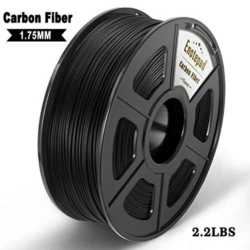 Carbon Fiber 3D Printer Filament,Extremely Rigid Carbon Fiber,Premium 3D Printer Filament 1.75mm +/-0.02mm,1KG 2.2LBS Spool